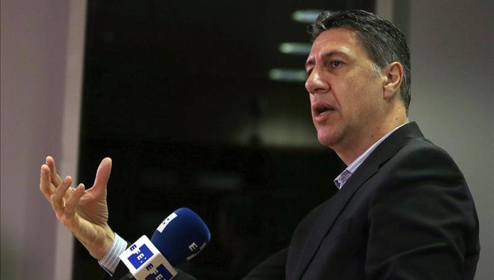 El líder parlamentario del PPC, Xavier García Albiol