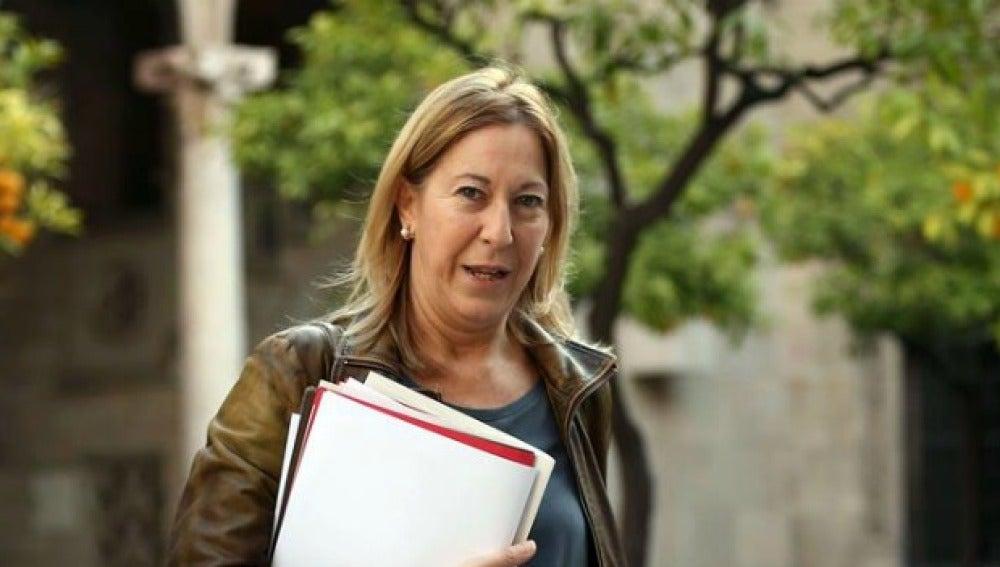 Neus Munté, consellera de Presidencia