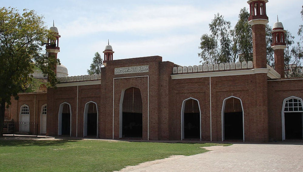 Mezquita en la localidad pakistaní de Punjab