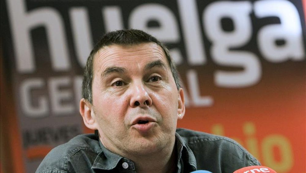 El dirigente de la izquierda abertzale Arnaldo Otegi