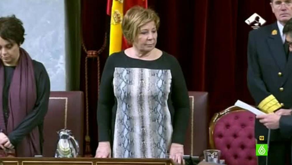 Celia Villalobos, reelegida vicepresidenta primera del Congreso de los Diputado