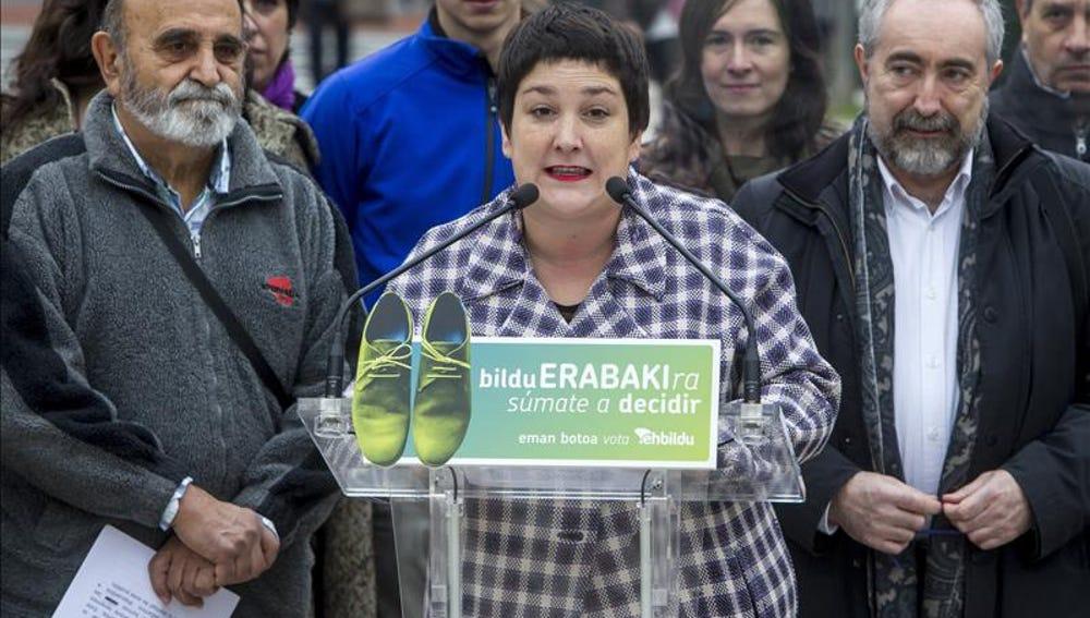 La diputada de EH Bildu Onintza Enbeitia