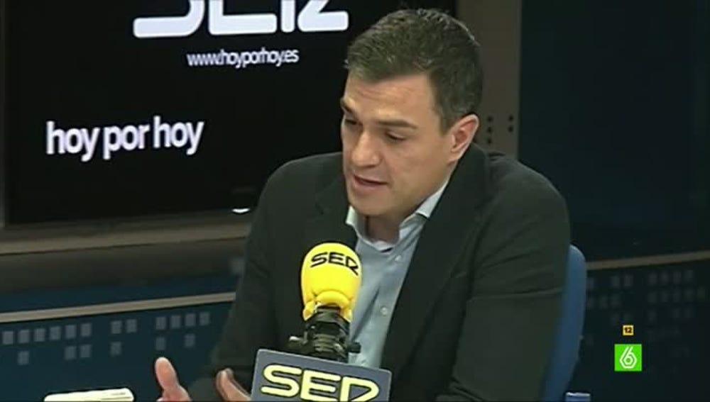 Pedro Sánchez confiesa qué mensaje le transmitió Mariano Rajoy por teléfono