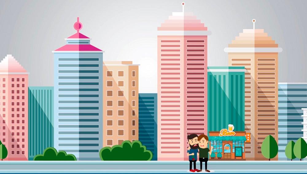 ¿Influye vivir en la ciudad?