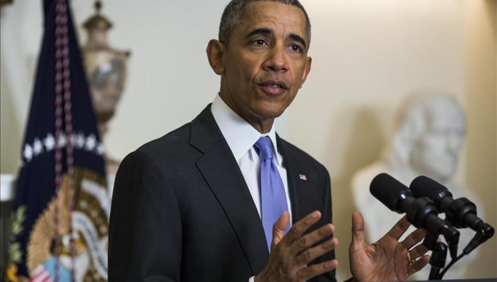 El presidente de los EEUU, Barack Obama