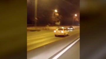 Un taxista kamikaze