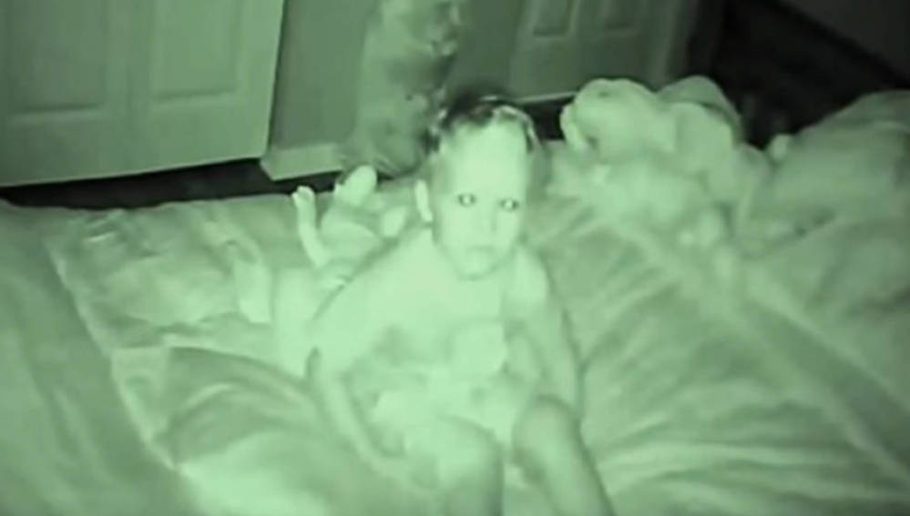 El niño tenía miedo a dormir solo por las noches
