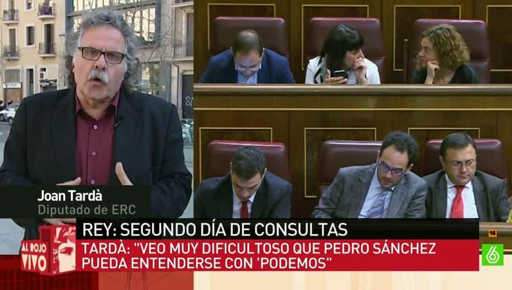 Joan Tardá, diputado de ERC en el Congreso