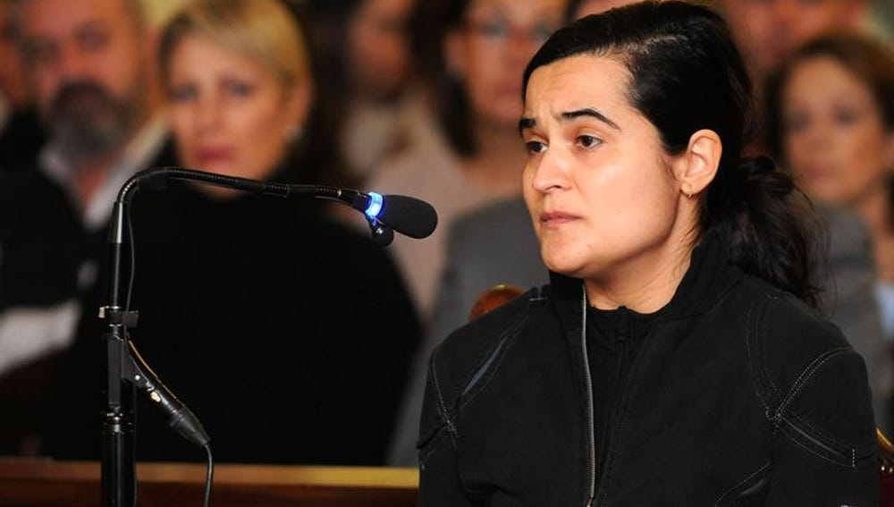 Triana Martínez declara durante el juicio por Isabel Carrasco