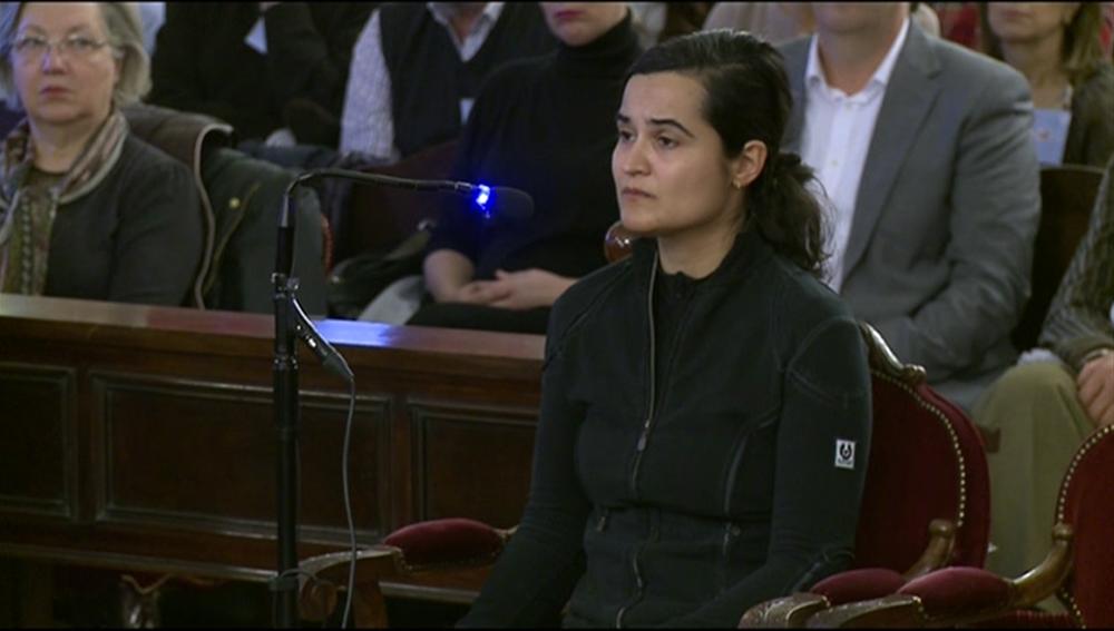 Triana Martínez, en la segunda sesión del juicio