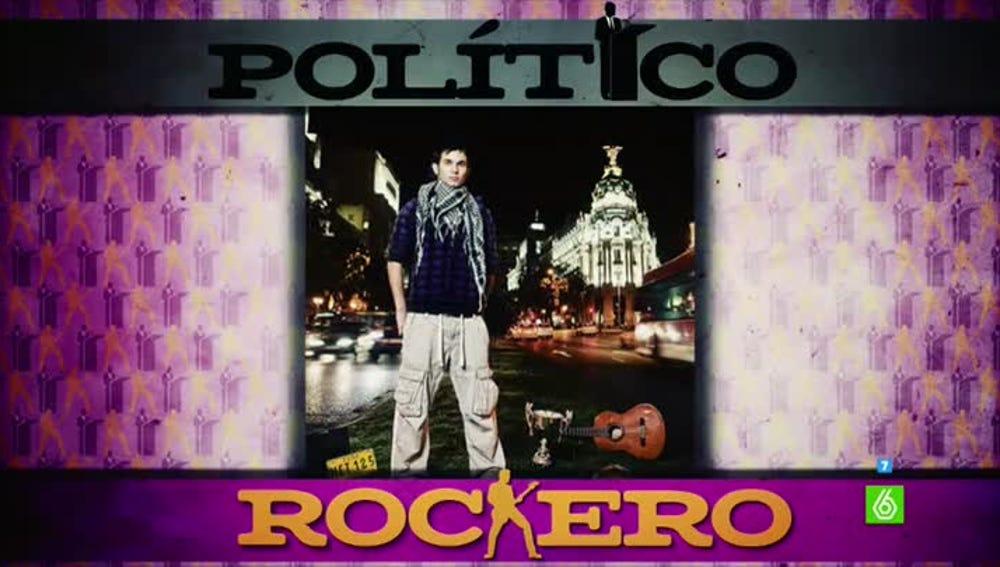 ¿Político o rockero?, el nuevo juego de Zapeando