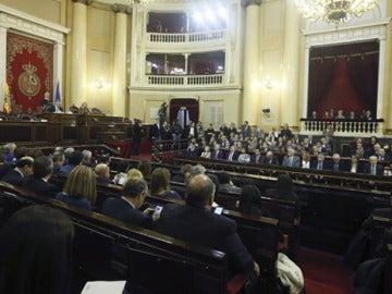 Vista general del Senado