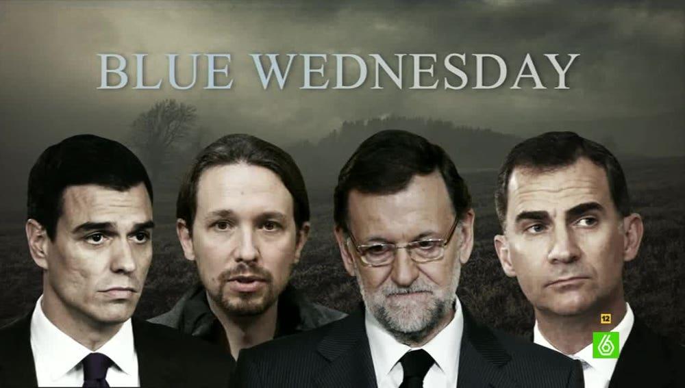 El 'Blue Wednesday' de los políticos