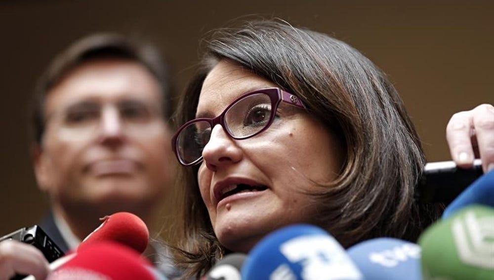 La coportavoz de Compromís, Mónica Oltra