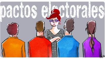 Pactos electorales ¿quién lo logrará?