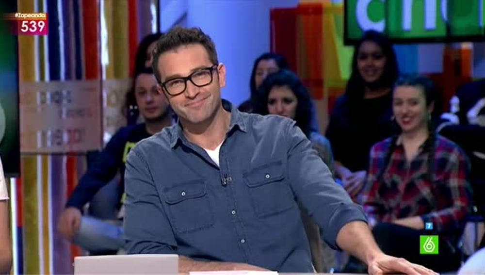 Fernando Gil vuelve a Zapeando para sustituir a Cristina Pedroche
