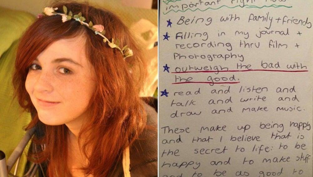 La lista de la joven Jess Fairclough