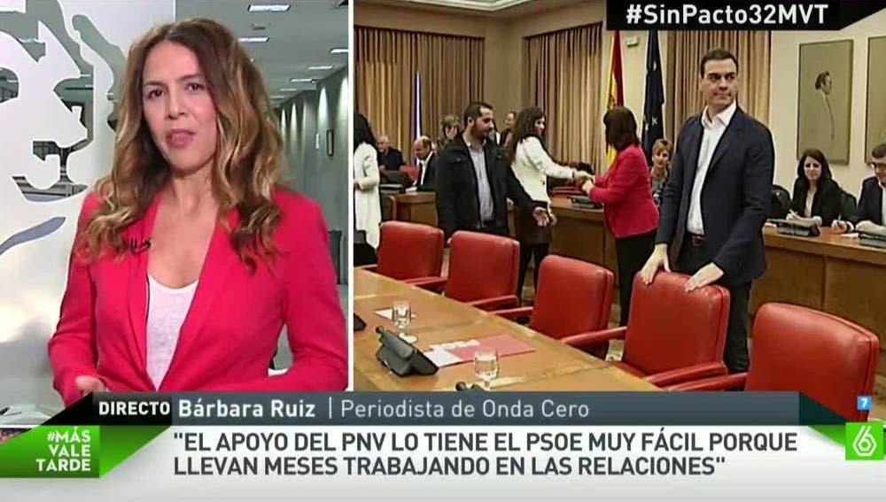 Bárbara Ruiz, periodista de Onda Cero