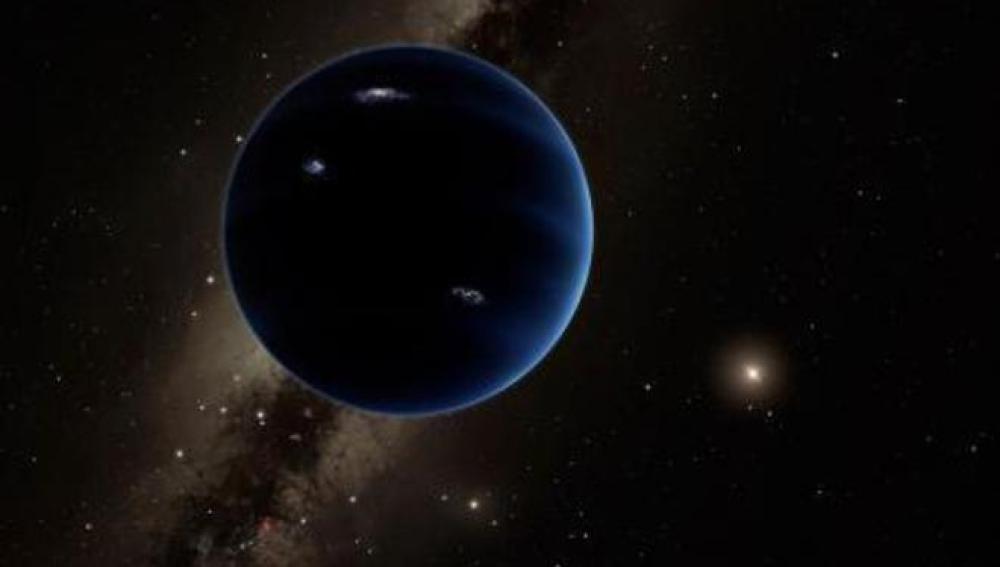 Recreación del 'Planeta Noveno'