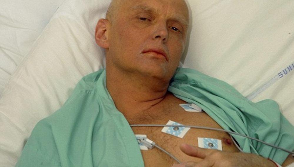 Alexander Litvinenko, exespia ruso envenenado