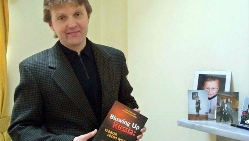 Alexander Litvinenko, el exespía ruso envenenado