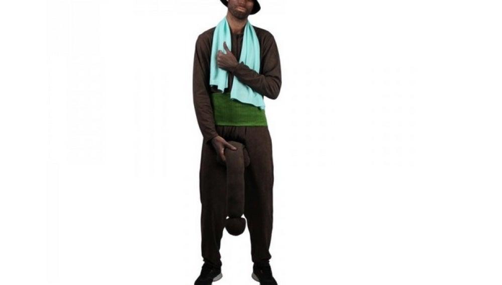 El disfraz de 'El Negro del Whatsapp'