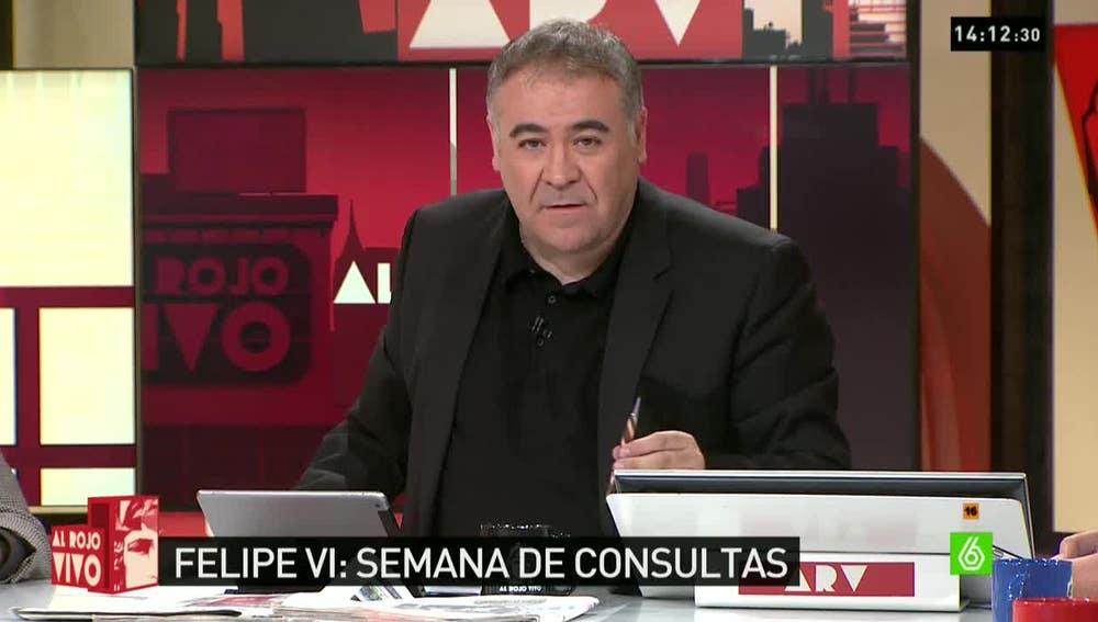 Antonio G. Ferreras, presentador de Al Rojo Vivo