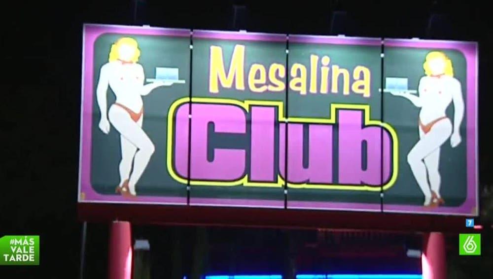 El club Mesalina, en Polop de la Marina