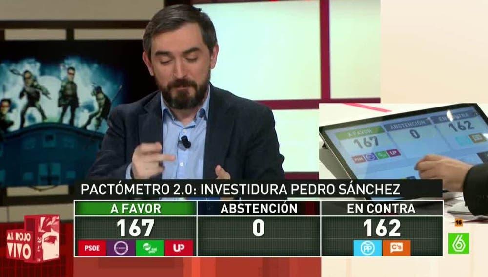 Ignacio Escolar, sobre los pactos de investidura