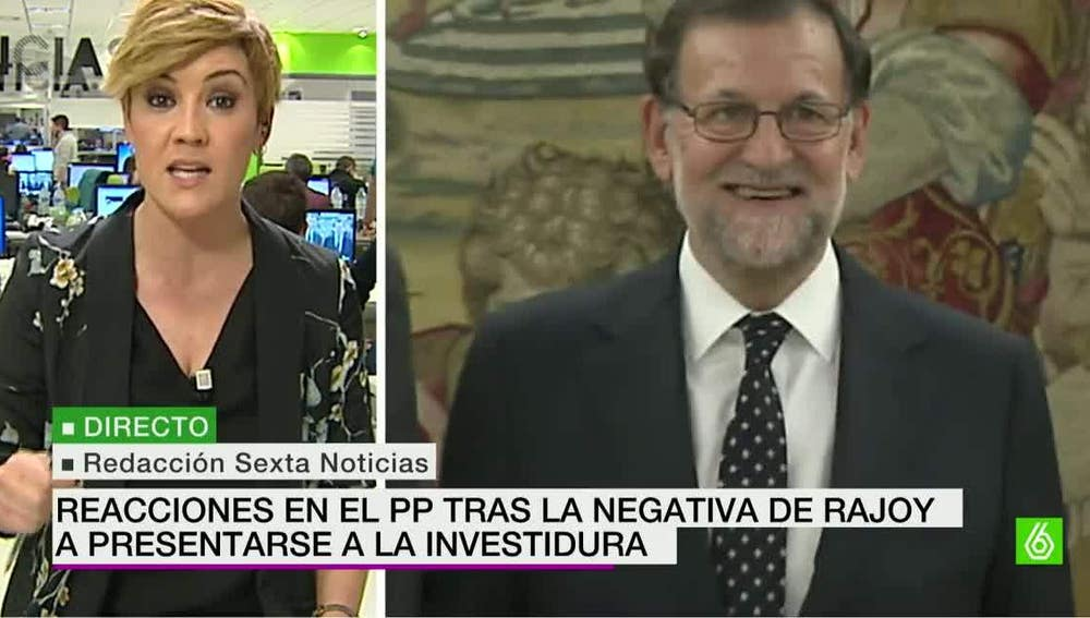 Cristina Pardo analiza el 'no' a Rajoy