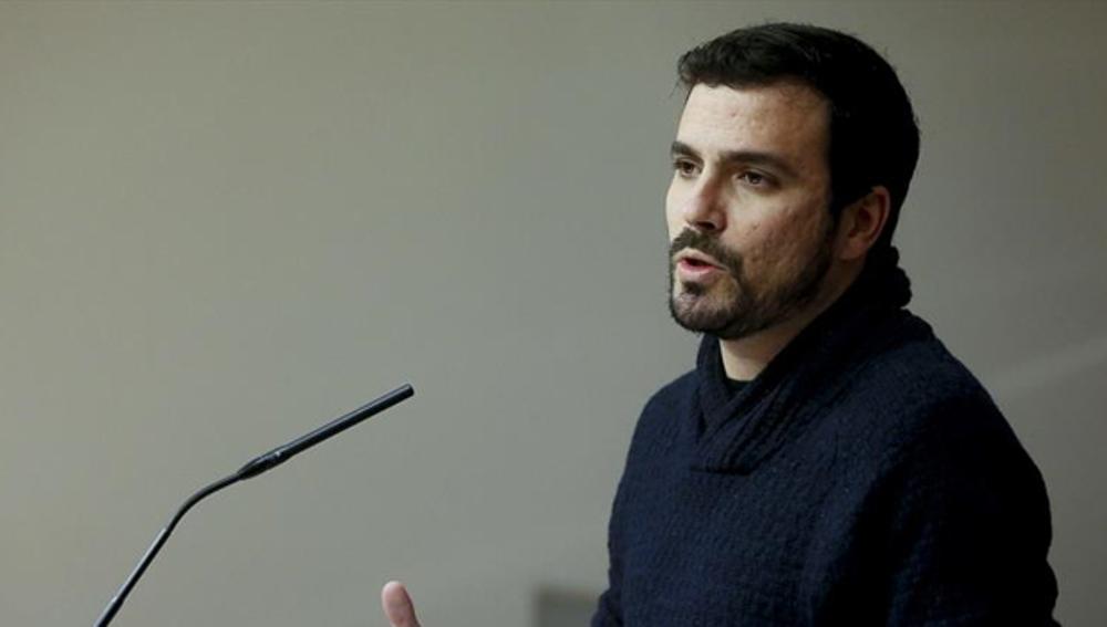 Alberto Garzón en Congreso de los Diputados