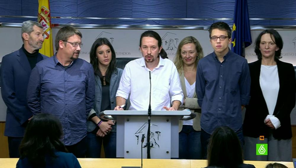 Pablo Iglesias y su apuesta de ministros para el Gobierno