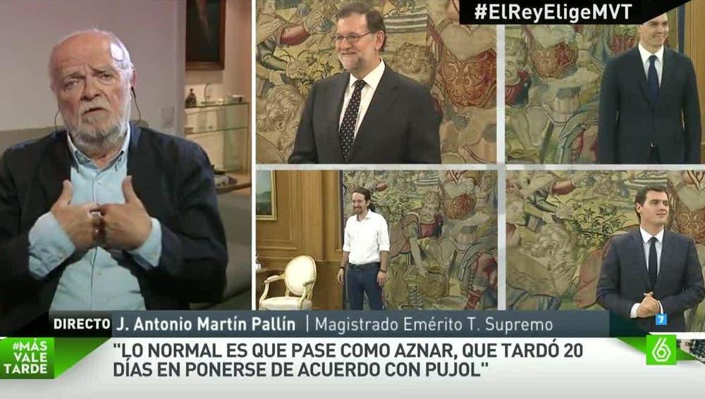 José Antonio Martín Pallín, magistrado Emérito del Tribunal Supremo