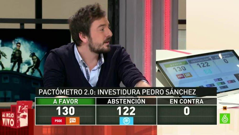 El pactómetro del periodista Jorge Bustos
