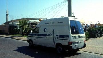 Una ambulancia en Mallorca