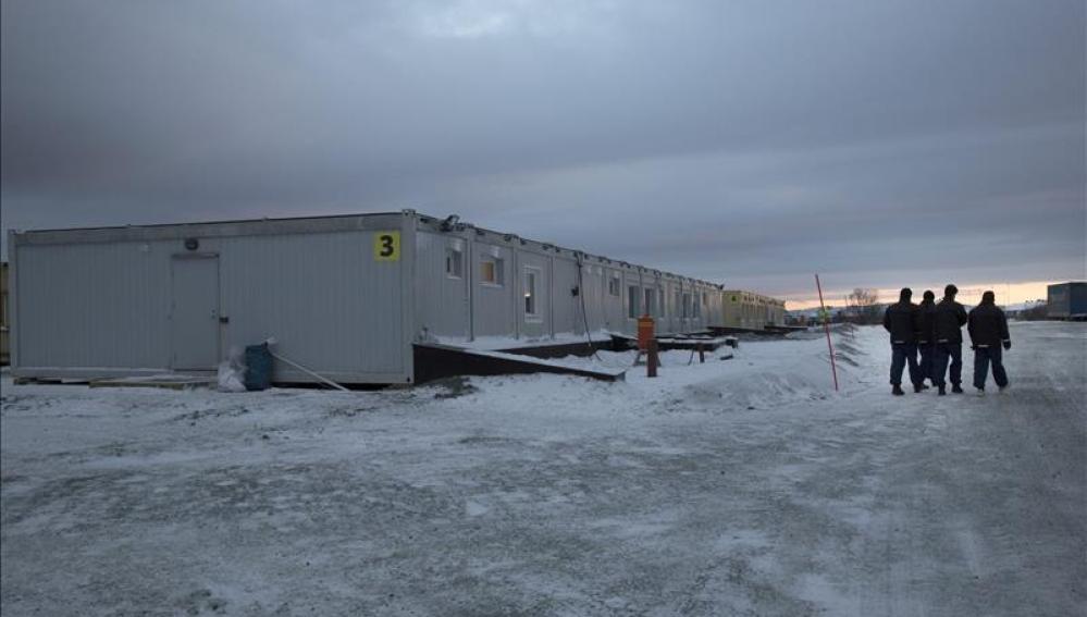 Centro para refugiados en Noruega