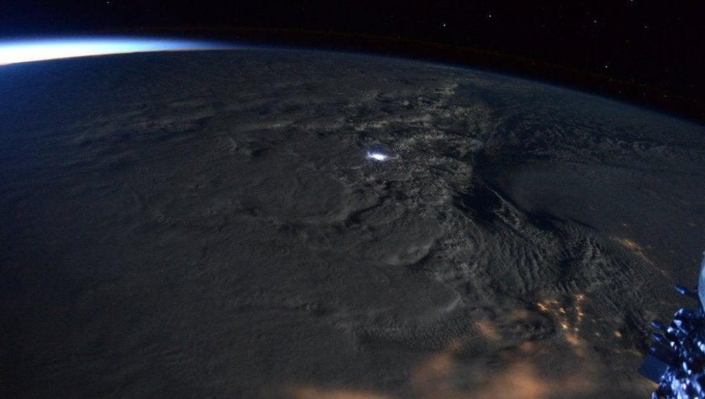La gran tormenta de EEUU desde la Estación Espacial Internacional