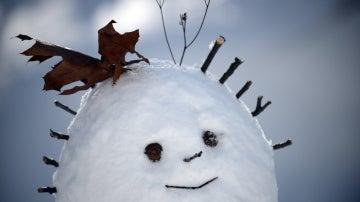 Muñeco de nieve en Nueva York