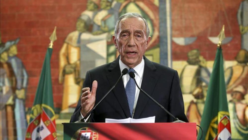 El ganador de las elecciones presidenciales lusas, el conservador Marcelo Rebelo de Sousa