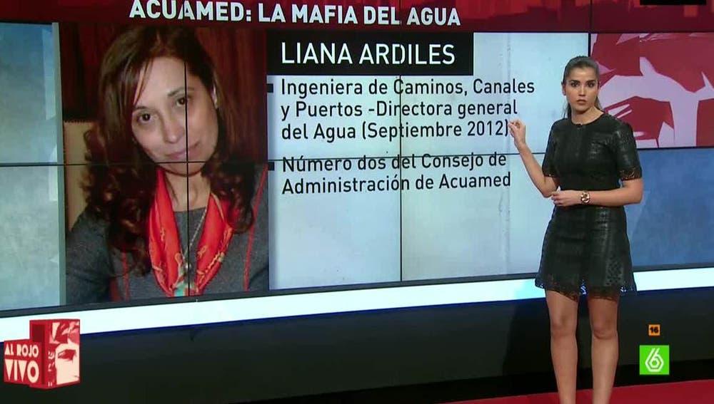 Liana Ardiles, implicada en el caso AcuaMed