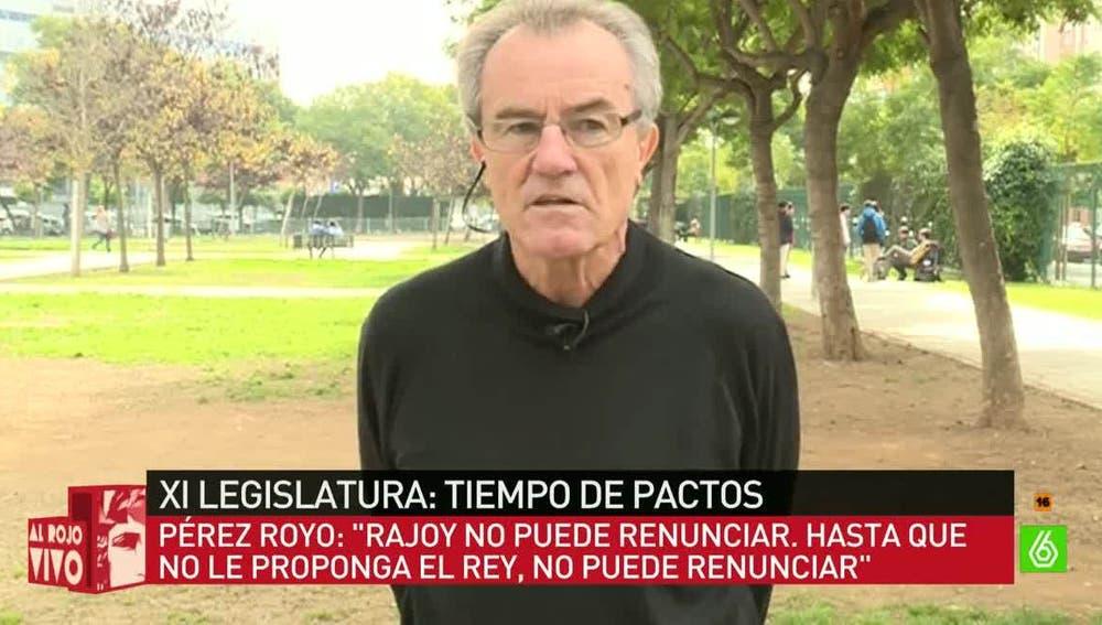 Javier Pérez Royo, catedrático de Derecho Constitucional
