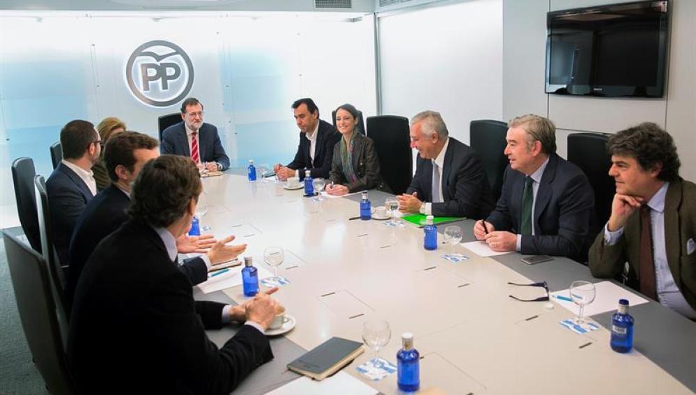 Reunión de la dirección del PP