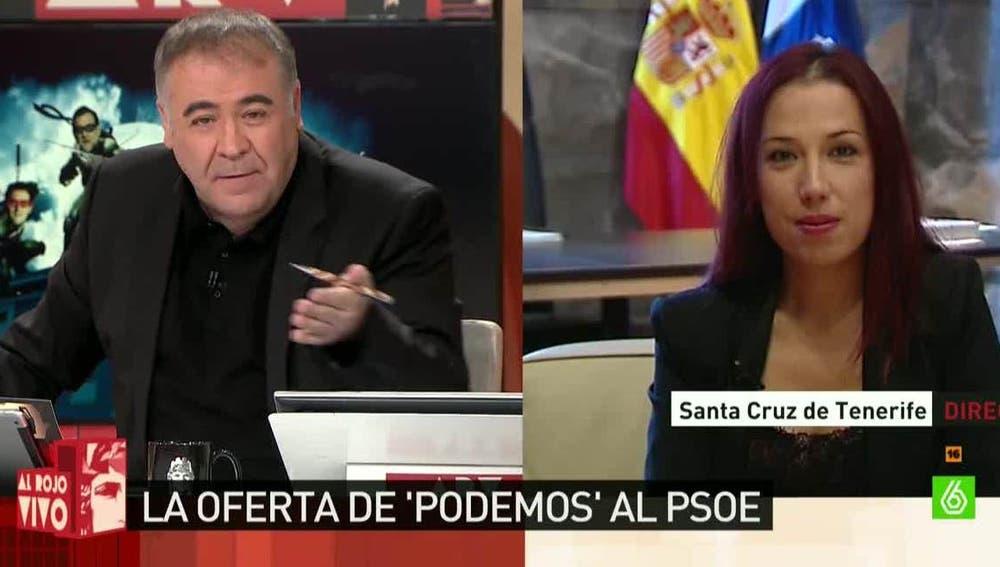 Patricia Hernández, secretaria general del PSOE en Tenerife