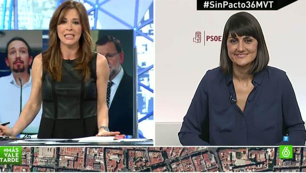 María González, secretaria de Participación del PSOE