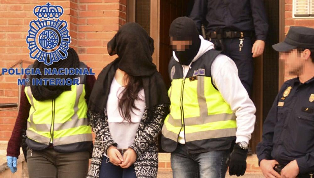 Detención de una yihadista