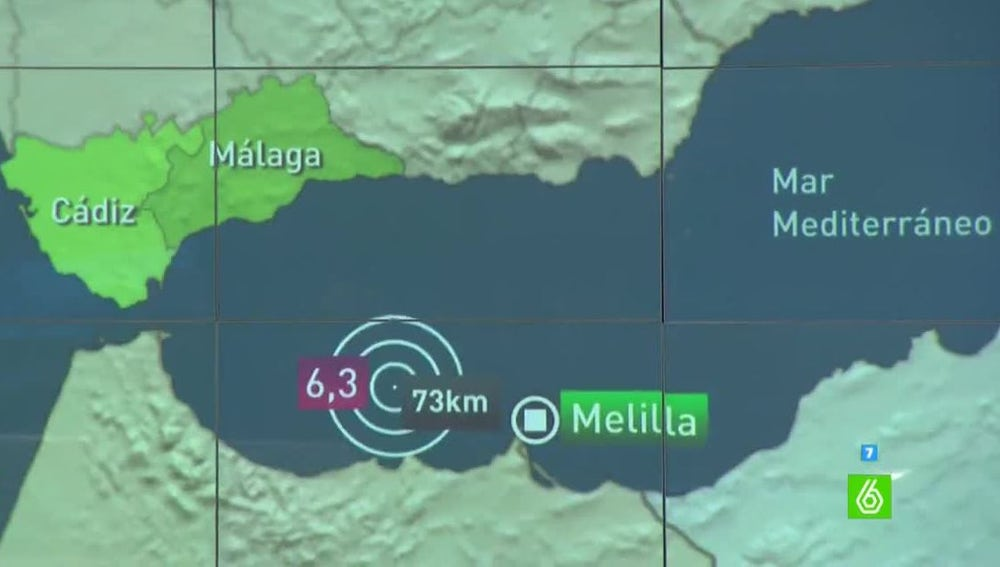 El terremoto ha afectado a varias ciudades andaluzas