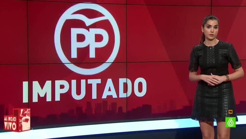 PP, primer partido político imputado