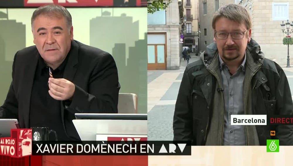 Xavier Domènech, portavoz de En Comú-Podem