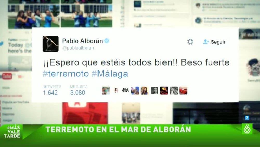 Pablo Alborán escribe en Twitter un mensaje tras el terremoto