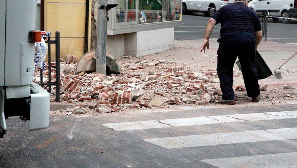 Efectos del terremoto de 6,3 grados
